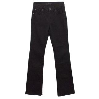 James Jeans Black Hector Flared Jeans