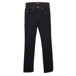 James Jeans Hunter Liaison Dark Denim Straight Jeans