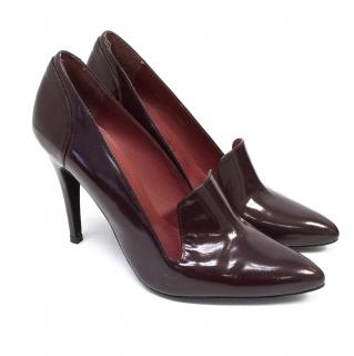 Russell & Bromley Maroon Patent Courts