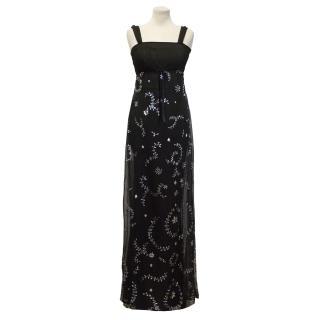 Temperley Black Maxi Dress