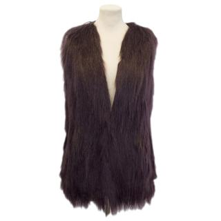 Unrealfur Purple Gilet