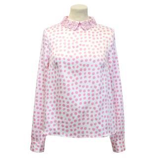 Manoush Pink 'Pois' Top
