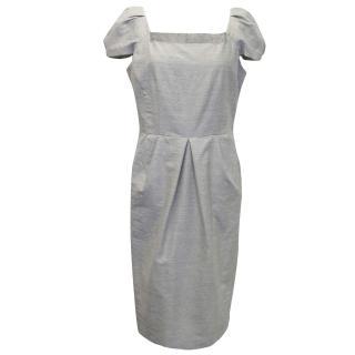 Alberta Ferreti Grey Dress