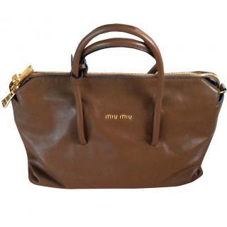 Miu Miu Tan handbag