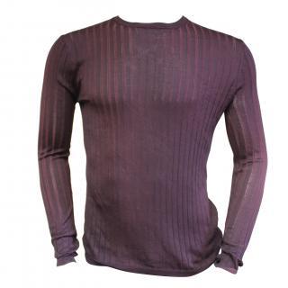 Falke mens silk fitted sweater