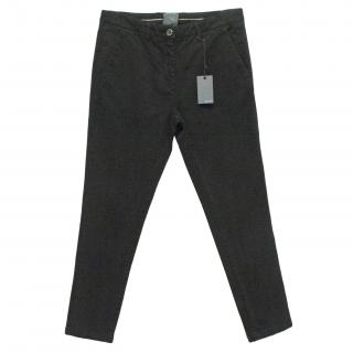 Lot78 Black Chino Trousers