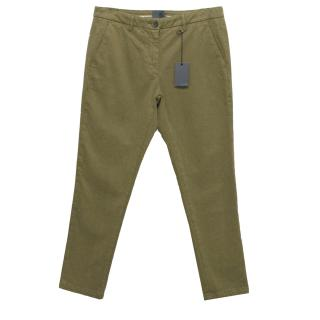Lot78 Green Chino Trousers