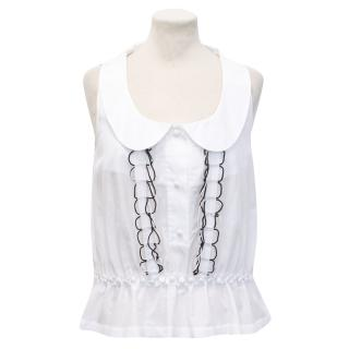 K by Karl Lagerfeld White Top