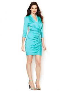 Catherine Malandrino ruched silk dress
