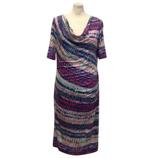 Boss by Hugo Boss Multi Coloured Patterned Summer Dress
