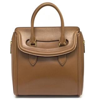Alexander McQueen Tan 'Heroine Tote Bag'