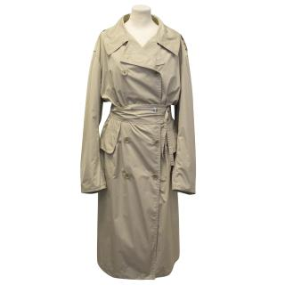 Dries Van Noten Beige Trench Coat