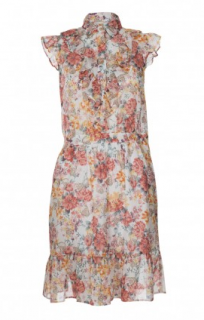 Love Moschino Floral & Skull Print Dress