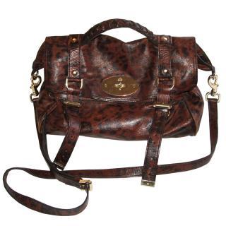 Mulberry Limited Edition Alexa satchel handbag