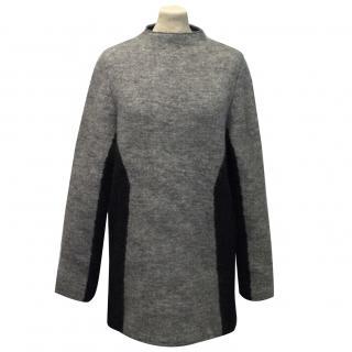 Cos Grey Tunic Jumper