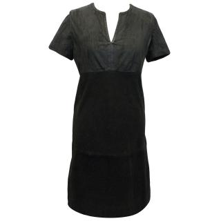 Balenciaga Black Leather Dress
