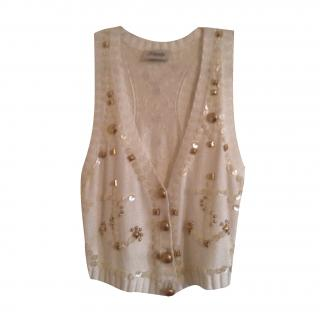 Alice Temperley embellished waistcoat