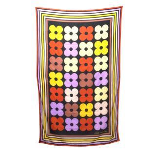 Louis Vuitton Multi Coloured Patterned Large Scarf/Wrap