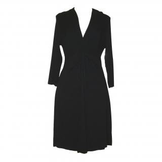 The White Company black jersey dress, size Extra Large