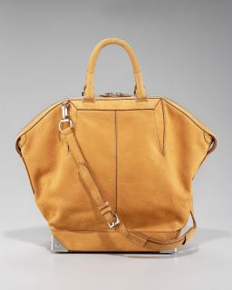 ALEXANDER WANG Large Orange Emile tote