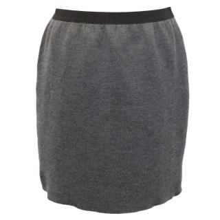 Marc Jacobs Grey Cashmere Knit Skirt