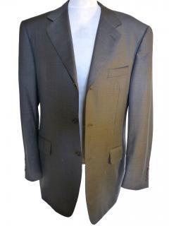 Canali Mens Dark Grey Jacket