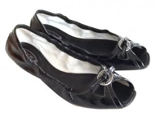 Tods Black driving shoes