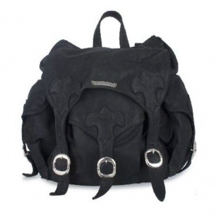 Chrome Hearts Leather Backpack
