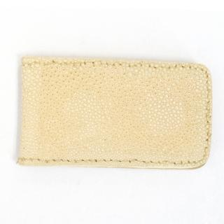 Maisha Exotic Leather Money Clip