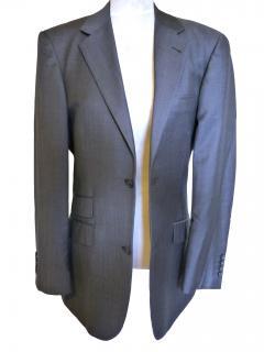Austin Reed Mens Grey Blue Lightweight Jacket