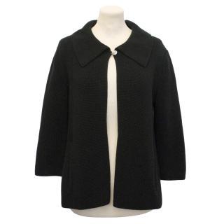 TSE Black Knit Jacket