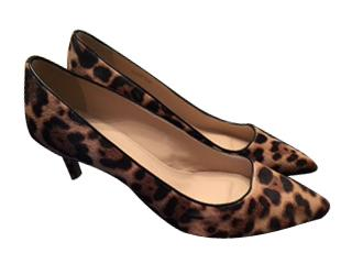 J Crew leopard shoes