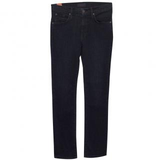 James Jeans High Class Straight Dark Blue Jeans