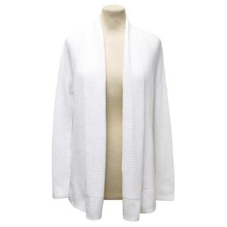 Vince White Knitted Cardigan