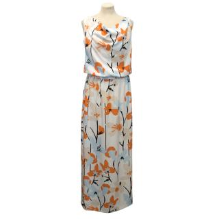 Diane von Furstenberg Floral Patterned Maxi Dress
