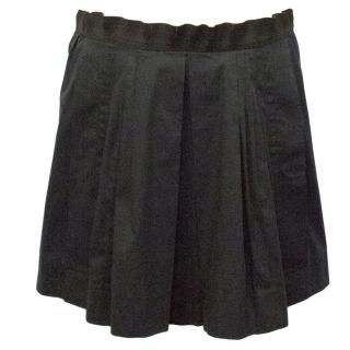 Philosophy Di Alberta Ferretti Black Skirt With Pleating
