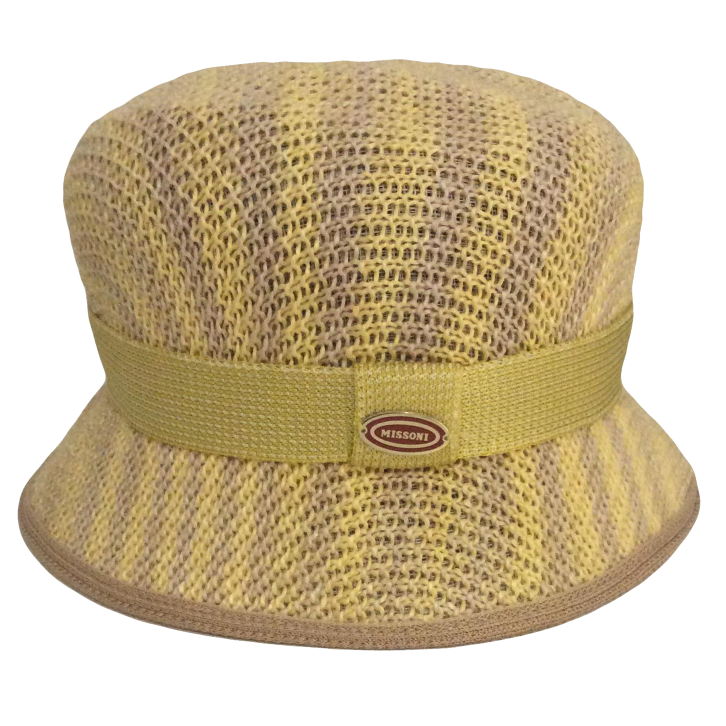 Missoni Yellow Hat