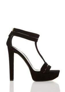 Gucci 'Keira' high heel t-strap platform sandals