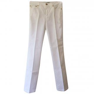 Roberto Cavalli White jeans