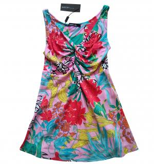 Marc Cain silk floral tunic/dress