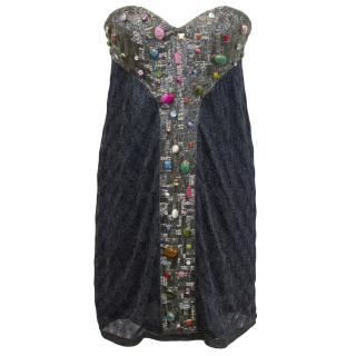 Missoni 'Clorinda' Coloured Beaded & Stone Embellished Dress