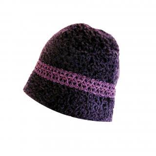 KARL DONOGHUE 100% Lambskin fur hat