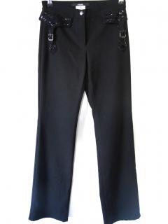 Gianfranco Ferre crystal smart dess pants trousers 8/36