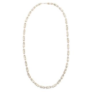 Mappin & Webb Small Silver Chain Necklace