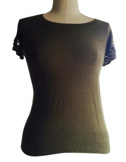 Mulberry Army Green top