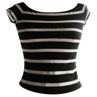 Bluegirl by Bluemarine Striped Top
