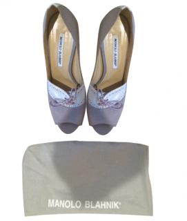 Manolo Blahnik Lilac Shoes