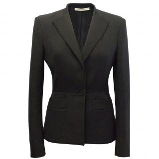 Balenciaga Black Blazer with Shoulder Pads