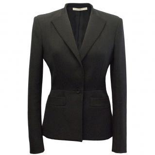 Balenciaga Black Blazer with Shoulder Pads