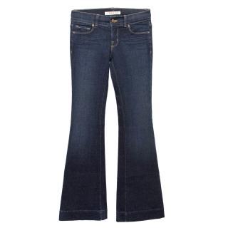 J Brand 'Love Story' Dark Blue Flared Jeans